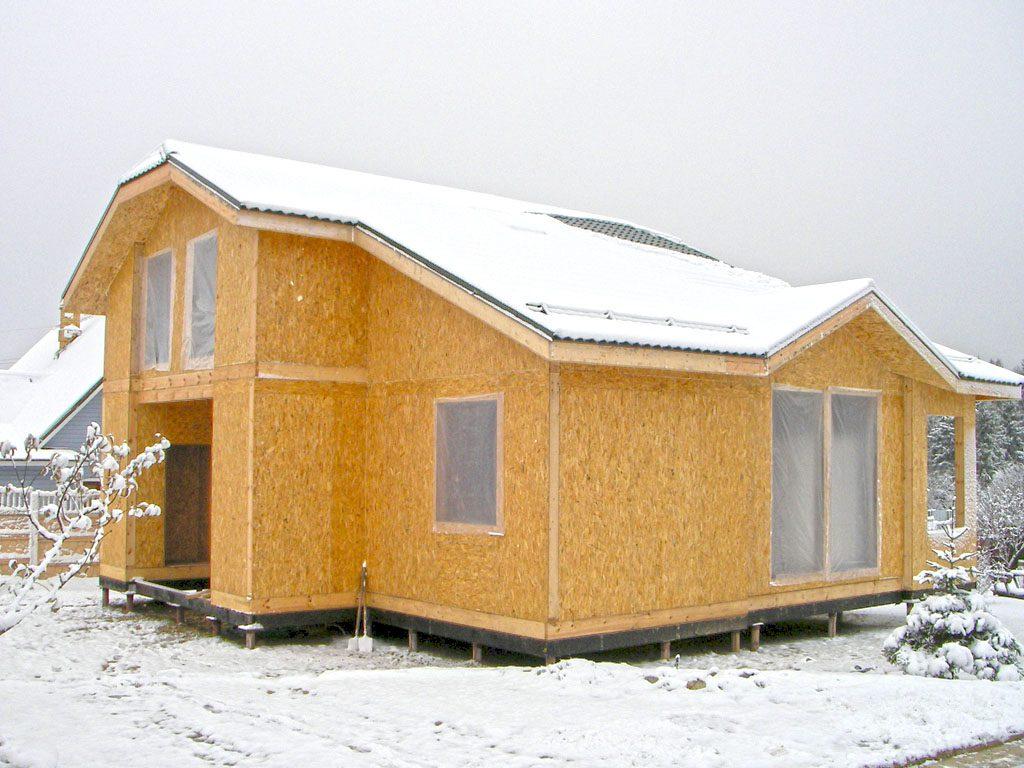 Дом СИП панели